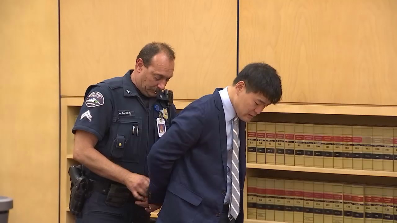 Min Kim, a Spanaway convenience store owner, was sentenced to eight years in prison on Friday for shooting and killing a fleeing shoplifting suspect in 2016. (Photo: KOMO News)