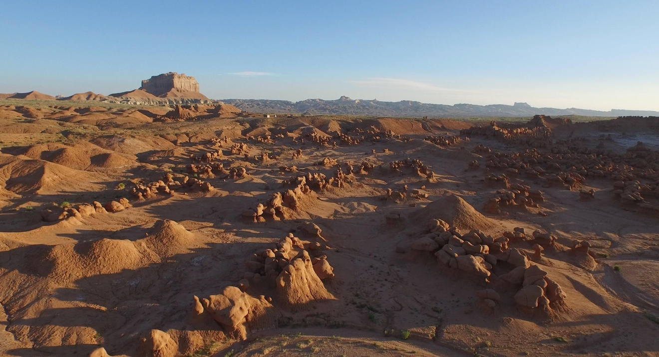 Goblin Valley Aerial