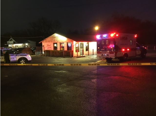 Tulsa Police is investigating after a suspect was shot while attempting to rob Forest Acres Liquor store near 13th and Memorial Thursday evening. (KTUL)