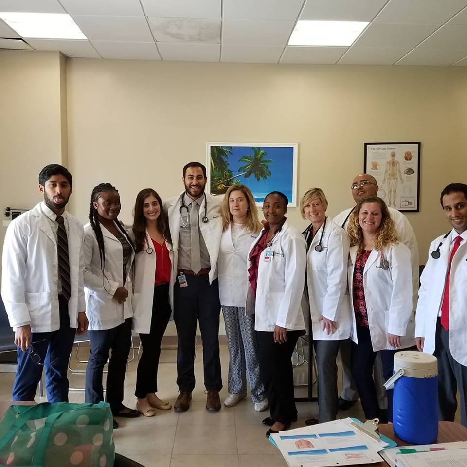 Shanda League is studying to become a doctor in Antigua, one of the islands expected to get hit by Hurricane Irma. (Photo courtesy of  Shanda League)