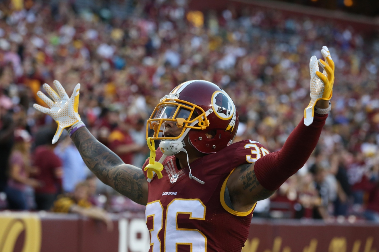 Su'a Cravens may have a new Redskins jersey, but we think it looks great with his full-sleeve. (Amanda Andrade-Rhoades/DC Refined)