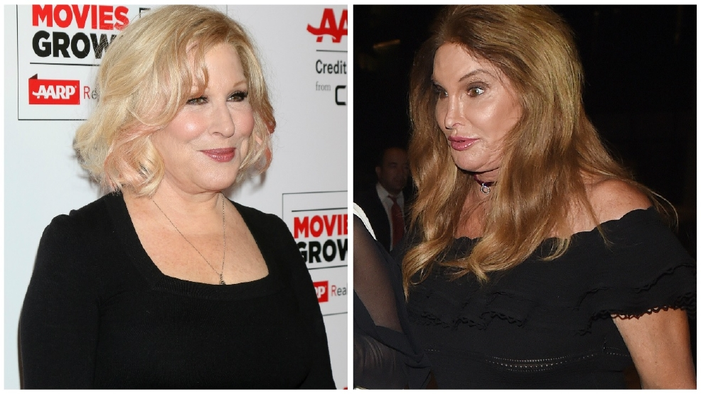 Bette Midler sorry for 'transphobic' Caitlyn Jenner tweet