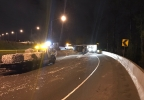 Semi truck hauling shredded paper crashes along I-5 - Oregon Dept of Transportation photo - 2.jpg