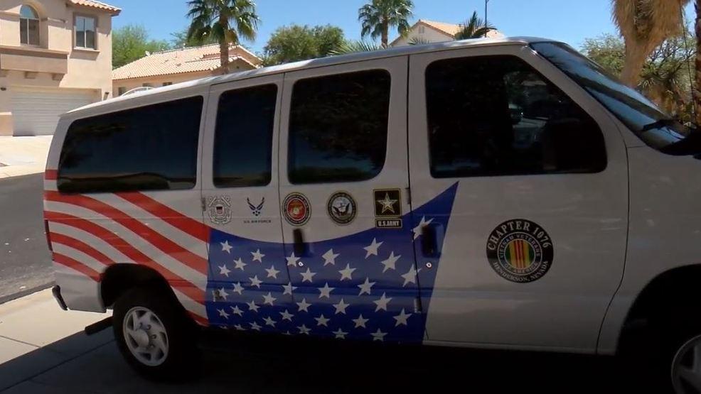 Vietnam veteran wins dispute with Henderson HOA over patriotic van