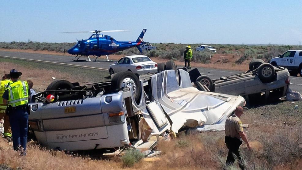 Critically Hurt As Motorhome Suv Crash On I Near Moses Lake