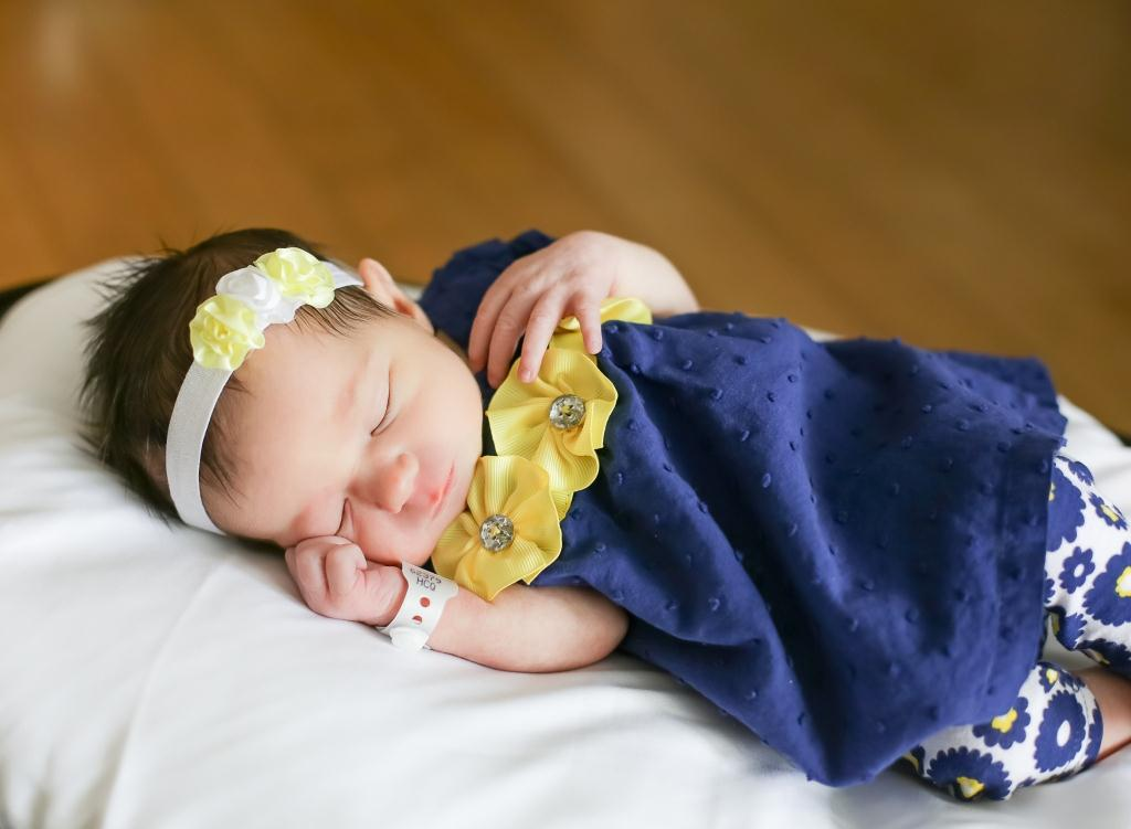 Alexandra, our Baby of the Day for February 2, 2016. Photo courtesy of Palms West Hospital and Bella Baby Photography