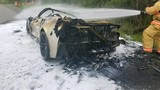 'I was very glad that I got out': Man who survived car fire shares his story