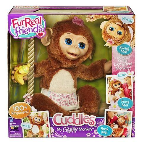 FurReal Friends Cuddles My Giggly Monkey PetPrice: $59.99