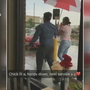 Video of Chick-Fil-A employee holding umbrella for customers goes viral