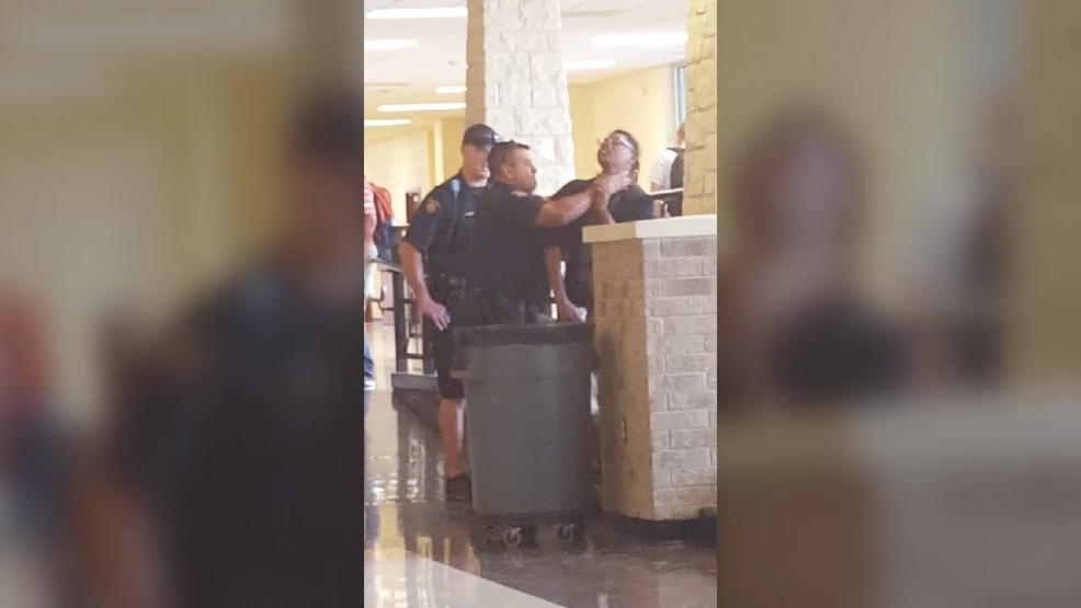 Incident between Round Rock PD officers and student caught on camera