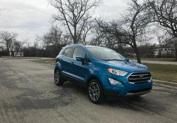2018 Ford EcoSport scores concerning three-star rollover rating