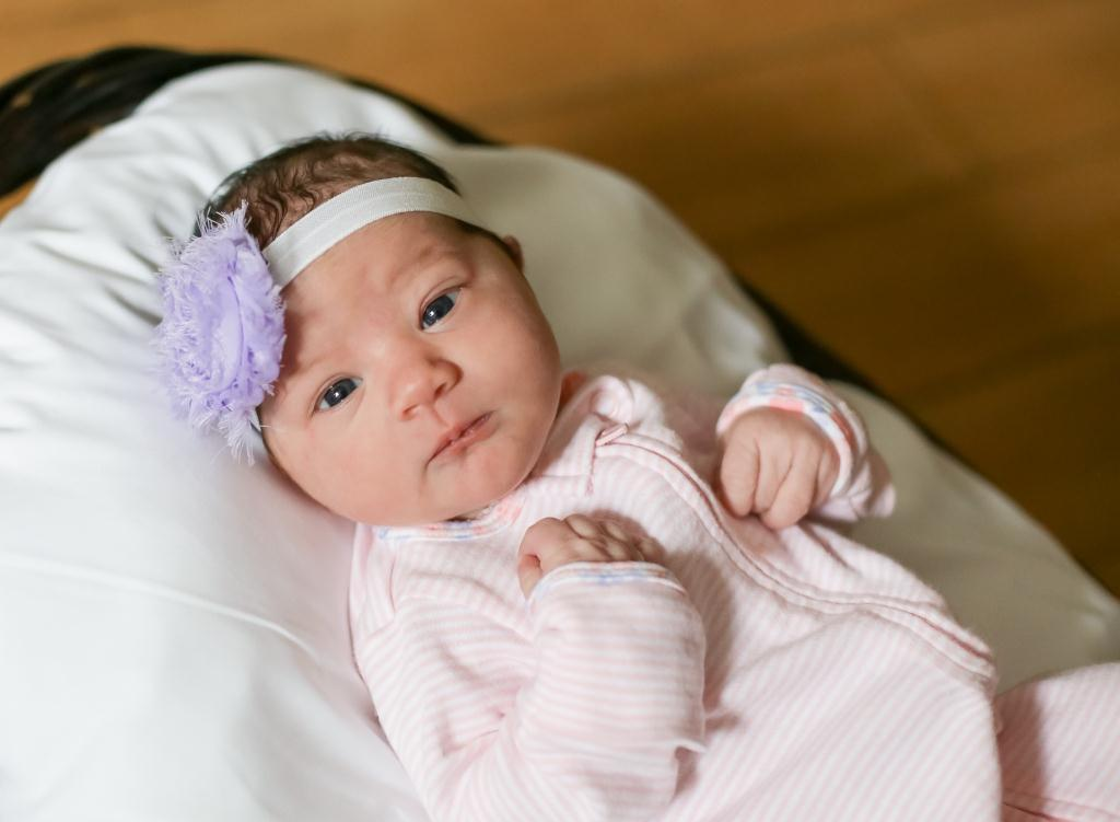 Zoe, our Baby of the Day for March 4, 2016. Photo courtesy of Palms West Hospital and Bella Baby Photography