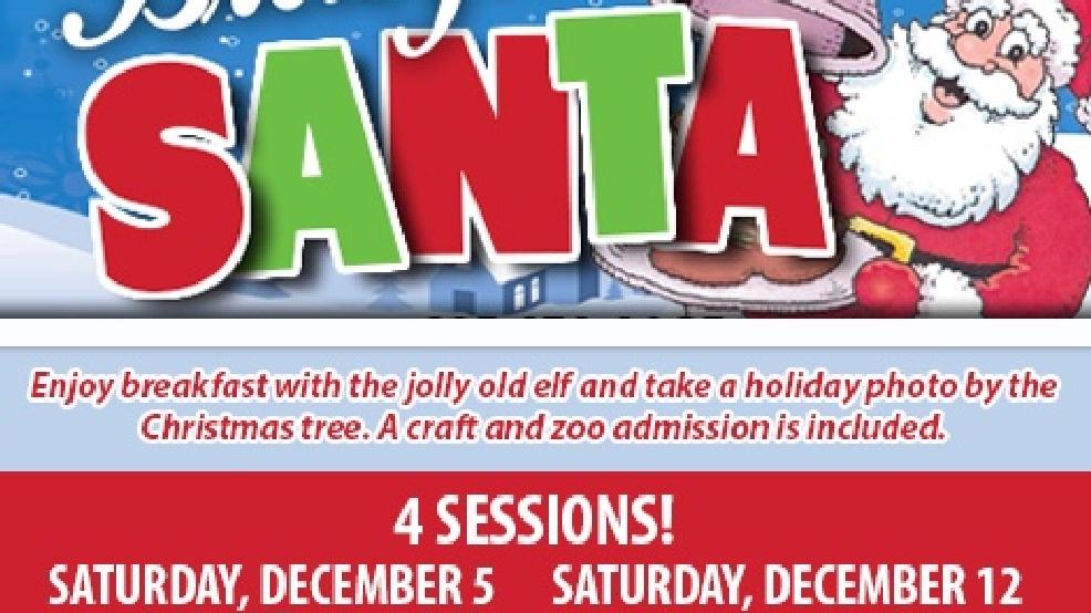 Abilene Zoo S Breakfast With Santa Tickets On Sale Ktxs