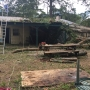 Adel home damaged after storms