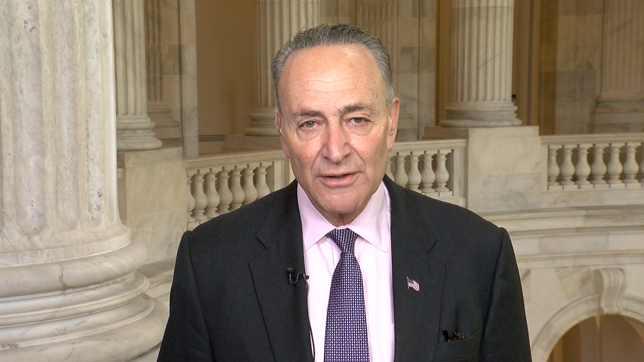 Sen. Chuck Schumer (D-NY) spoke to WHAM from Capitol Hill on Dec. 7, 2016. (SBG)