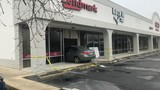 Car with baby inside crashes head-on into Greenville Lendmark