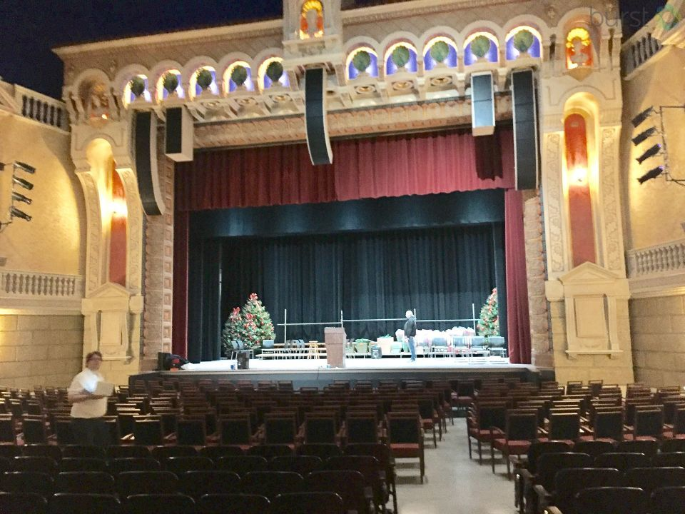 Take a look inside! The renovated Capitol Theatre was unveiled Thursday, Dec. 7 with a ribbon cutting. (Photo by Joel Feick WEYI/WSMH)
