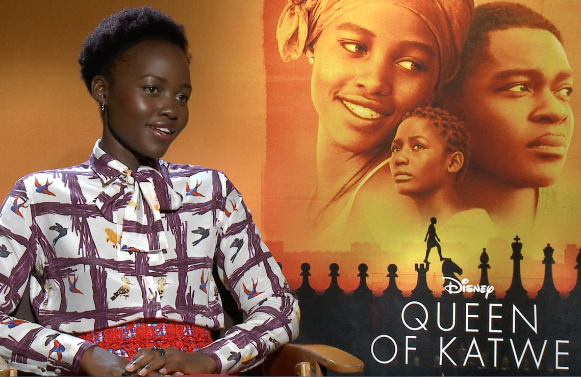 "Lupita Nyong is in Disney's ""Queen of Katwe."""