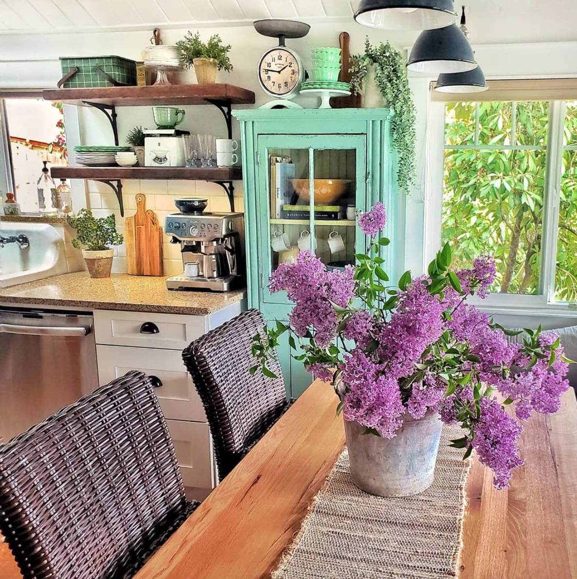 Kim Robinson and her husband have spent the past 8 years renovating their 100-year-old Gig Harbor area home. She started posting photos of her gorgeous space on Instagram - and quickly became a social media sensation. (Photo: Kim Robinson/Shiplap and Shells)