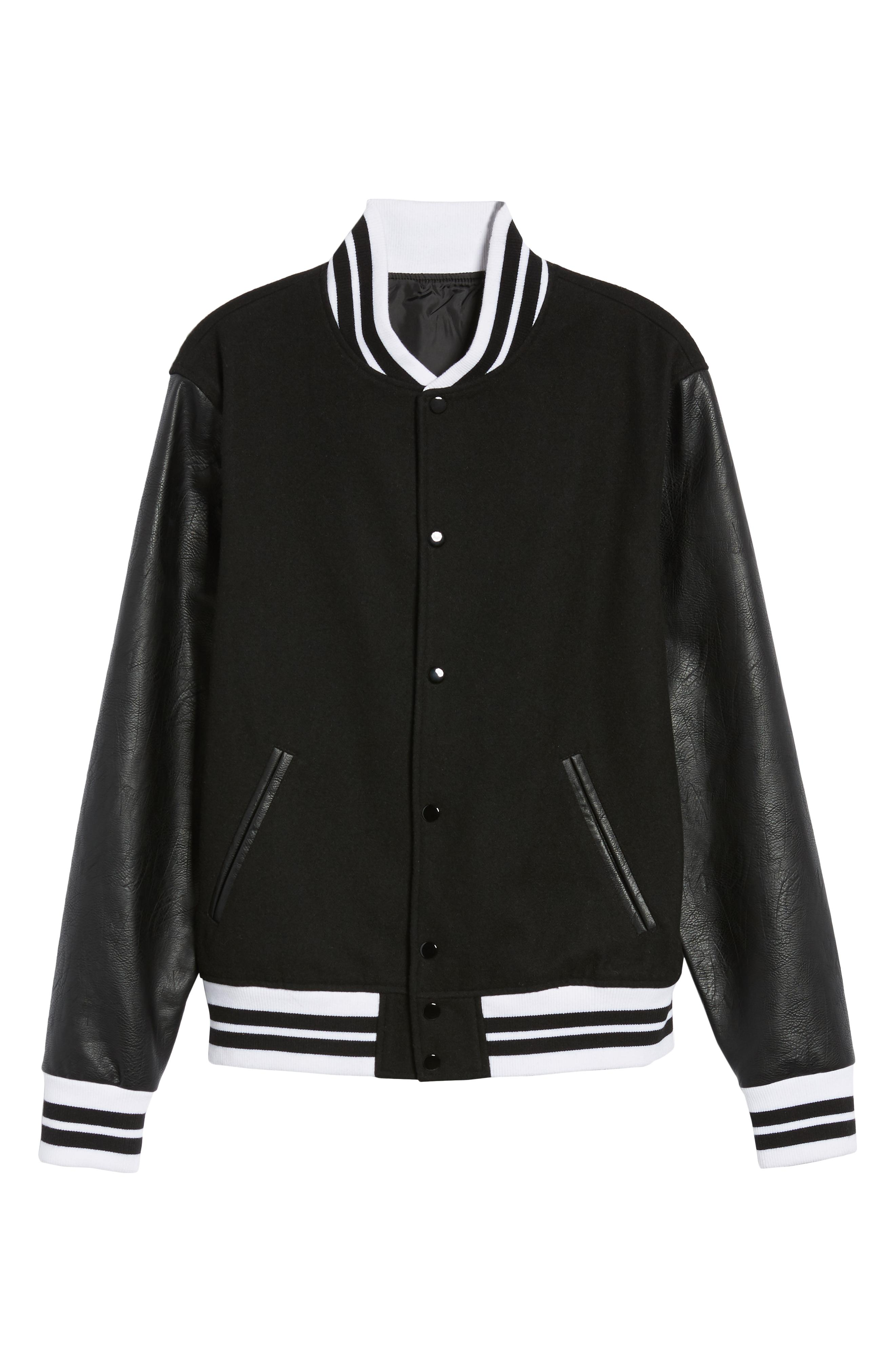 The Rail Varsity Jacket -- Sale: $85.90 / After Sale: $129{ }(Image: Courtesy Nordstrom)