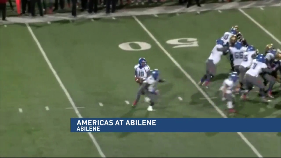 Playoff Highlights: Americas vs Abilene