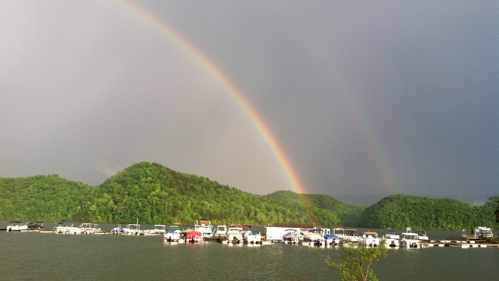 Double Rainbows What Do They Mean Wcyb