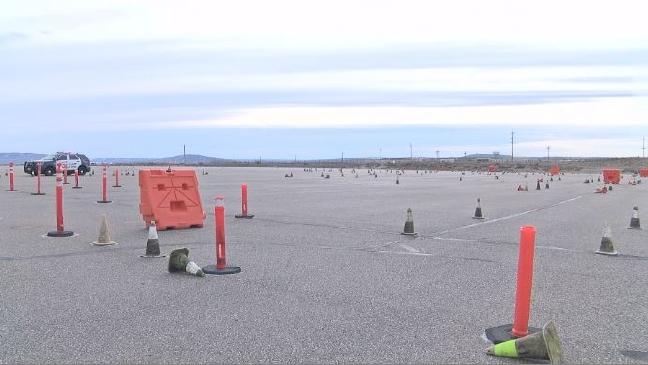 Could you do the course? Richland PD tests driving skills with road challenge