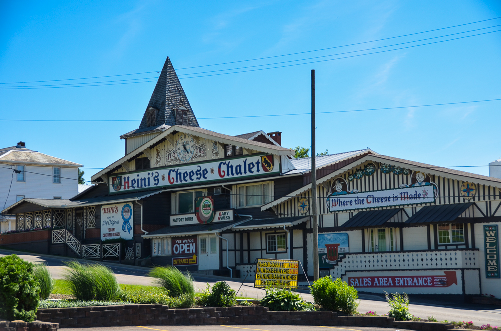 Heini's Cheese Chalet in Berlin, Ohio  --  Ohio Amish Country, a picturesque portion of east-central Ohio, is a place where time slows down. Come ready to be restored. [Image: Sherry Lachelle Photography]