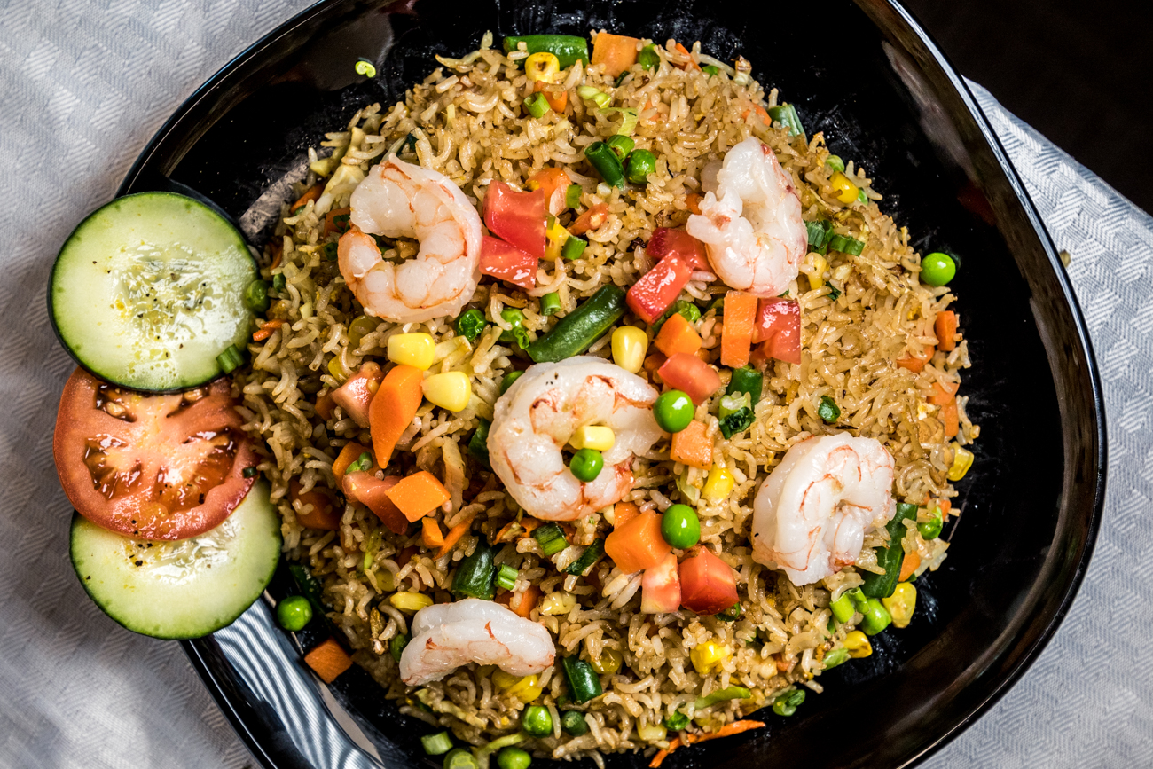 Shrimp fried rice / Image: Catherine Viox{ }// Published: 2.6.20