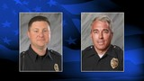 Fallen Westerville officers honored with procession Monday morning