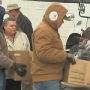 Second Harvest, Washington Beef hand out food to families in Ellensburg