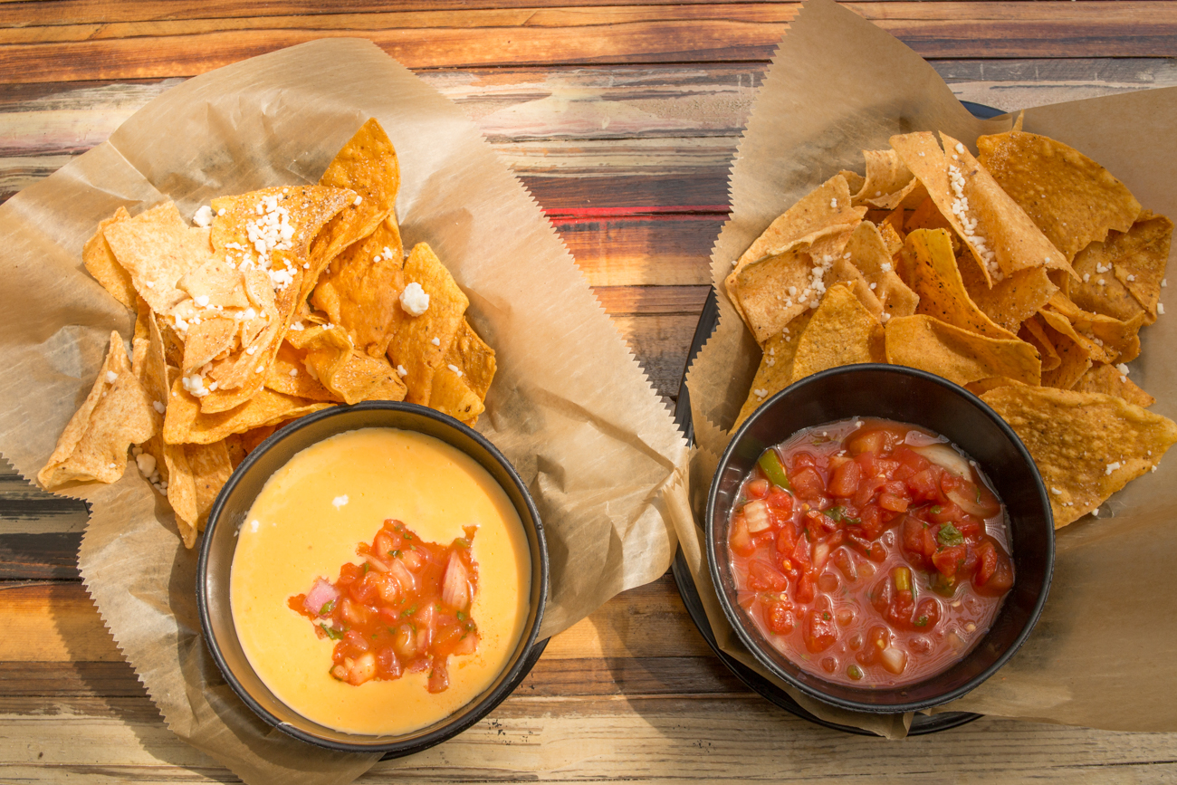 Chips with queso and salsa / Image: Catherine Viox // Published: 8.18.17
