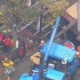 Water main floods trench in Boston, killing worker