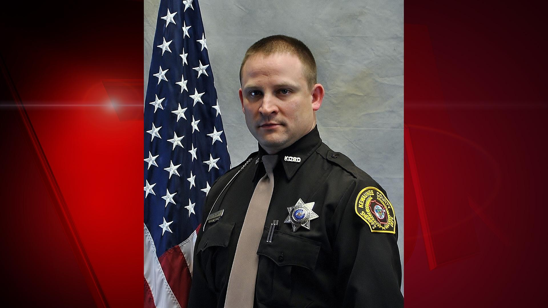 Deputy Jamie A. Tlachac of the Kewaunee County Sheriff's Department (Photo courtesy of the Wisconsin Department of Justice)