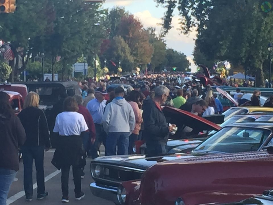 Thousands of people are expected to roll into Frankenmuth for Auto Fest this weekend. (Photo Credit: Drew Moore/WSMH)