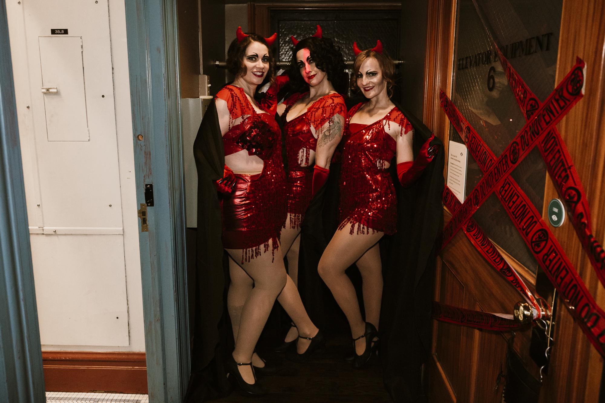 <p>It's the [zom] bees knees! For three nights only, Seattle's iconic Smith Tower transformed into a spooky speakeasy complete with dance parties, zombie flappers,{&amp;nbsp;}séances and scary sangria. More info at visit.smithtower.com! (Image: Sunita Martini / Seattle Refined)</p>
