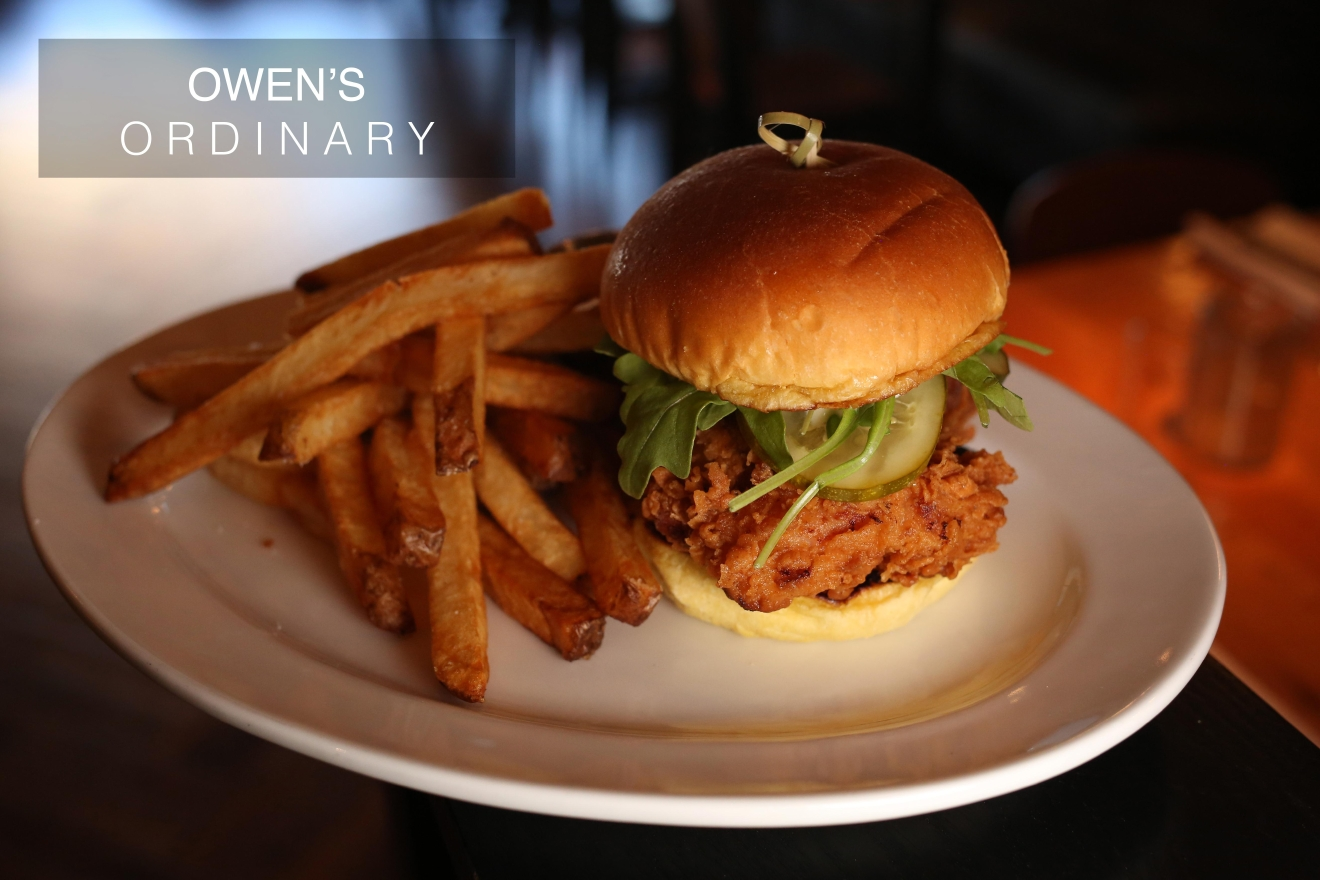 Owen's Ordinary is located at  Pike & Rose, 11820 Trade Street, North Bethesda, MD (Amanda Andrade-Rhoades/ DC Refined)