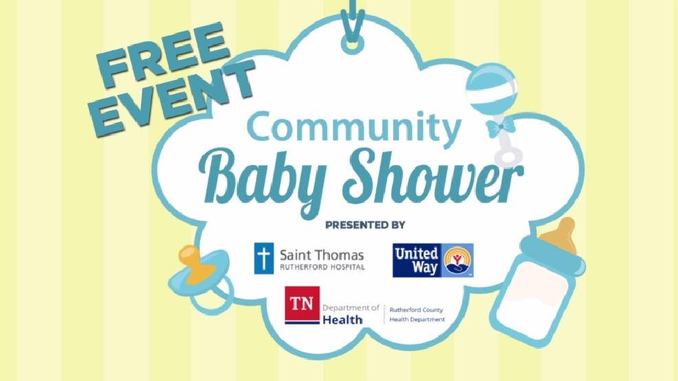 free community baby shower scheduled this weekend in murfreesboro