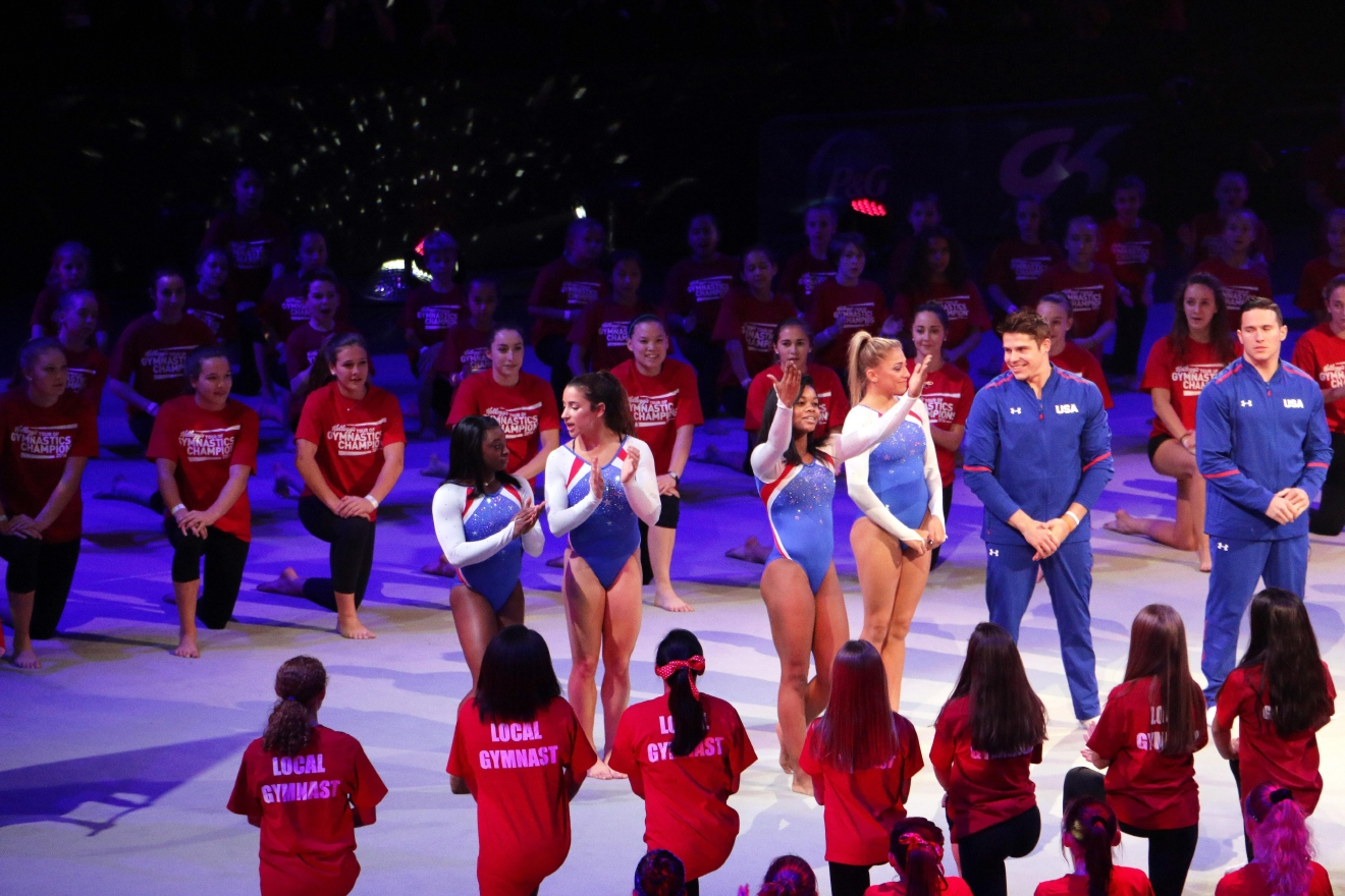 The 2016 Kellogg's Tour of Gymnastics Champions included 38 stops in 36 cities across the nation. (Jai Williams)